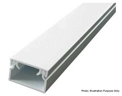 High-strength Cable Trunking Ducting Duct 4 metre Square shaped(White) all size