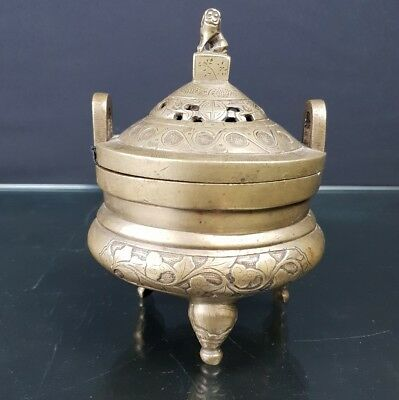 Wonderful Antiques Chinese Bronze Incense Burner