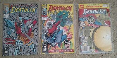 Marvel Deathlok #1, #2 and Annual #1 NM condition