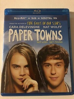 Paper Towns (Bluray/DVD, 2015) FREE SHIPPING