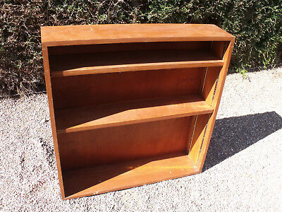 ANTIQUE 1920s 4 TIER BOOKCASE/SHELF