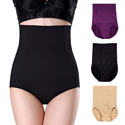 95173ac9a Women High Waist Control Briefs Shapewear Panty Body Shaper Slim Tummy  Underwear