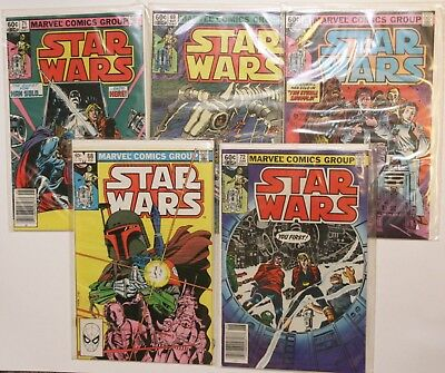 Vintage Star Wars  Marvel Comic Lot Original