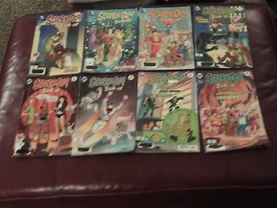 Scooby-Doo Team-Up Comic Book Lot of 8
