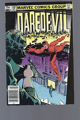 Canadian Newsstand Edition $0.75 Price Variant Daredevil #192