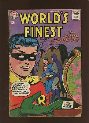 World's Finest Comics 100 GD+ 2.5 * 1 Book Lot * Batman! Robin! Superman!