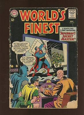 World's Finest Comics 137 GD 2.0 * 1 Book Lot * Batman & Superman VS Lex Luthor!