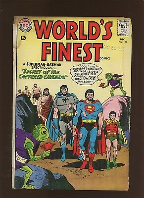 World's Finest Comics 138 GD 2.0 * 1 Book Lot * Secret of the Captive Cavemen!