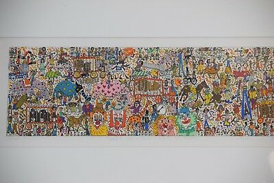Art work by:James Rizzi Lithograph in 3-D