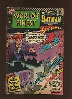 World's Finest Comics 160 GD/VG 3.0 * 1 Book Lot * Batma! Superman! Curt Swan!