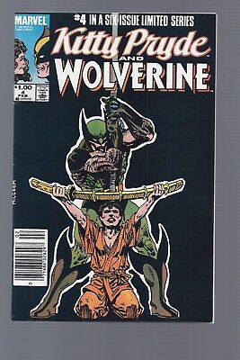 Canadian Newsstand Edition $1.00 Price Variant Kitty Pryde Wolverine #4