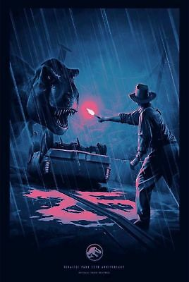 Jurassic Park 25th Anniversary Poster NEW