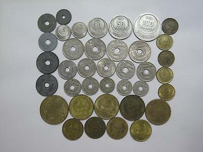 Tunisia Tunisie Francs Centimes Wwii Mixed Date & Type World Coin Collection Lot