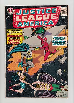 Justice League of America #31 Hawkman Joins the JLA (DC 1964) FN- 5.5