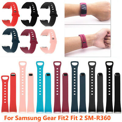 For Samsung Gear Fit 2 II SM-R360 Silicone Replacement Wrist Band Strap Bracelet