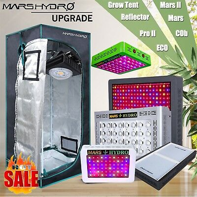 Mars Hydro LED Grow Light Full Spectrum Veg Flower IR and Indoor Grow Tent Kit