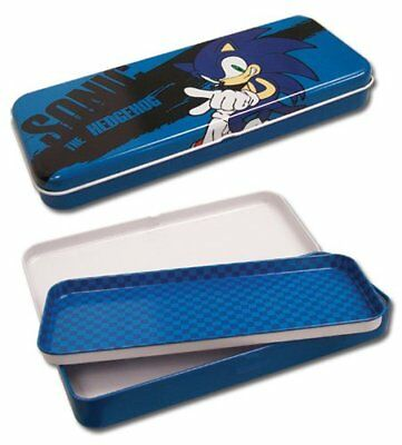 *NEW* Sonic The Hedgehog: Sonic Tin Pencil Case by GE Animation