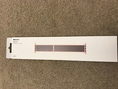 Apple MQW02AM/A 38mm Pink Sand Sport Loop Watch Band BRAND NEW