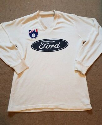 Rare Vintage Afl Geelong Cats Player Issue Football Footy Training Guernsey