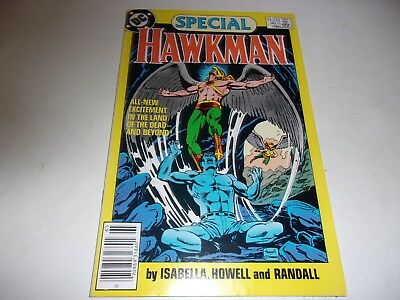 Hawkman Special # 1--Gentleman Ghost appearance--Tony Isabella--1986--VF+