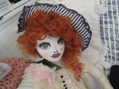 Handmade Cloth Doll 'alice'