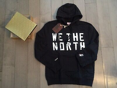 Official - Toronto Raptors Hoodie WE THE NORTH Mitchell & Ness Ltd Ed. OVO