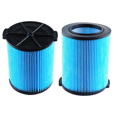Replacement For Ridgid VF5000 6-20 Gallon Wet/Dry Units 3-Layer Filter Blue
