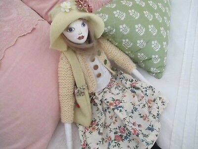 HANDMADE CLOTH DOLL 'saville'