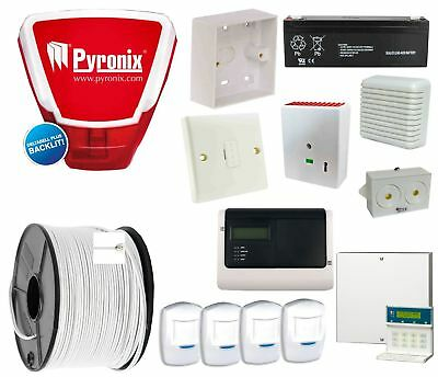 Supply And Install Wired Gsm Auto Dialler Burglar Alarm System & Live Bell Box