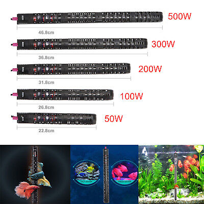 50-500W Digital Aquarium Heater Submersible Fish Tank Tropical Water Thermos
