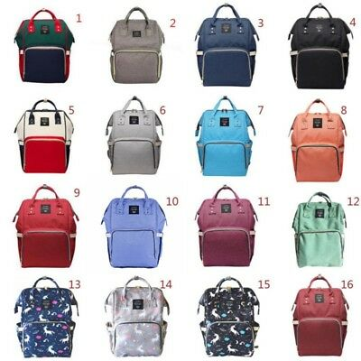 Diaper Mummy Bag Multi-Function Waterproof Travel Backpack Nappy Bags Baby Care