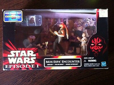 Mos Espa Encounter,Episode1,E1, Cinema Scene, star wars,ovp,neu,mib,misb,box