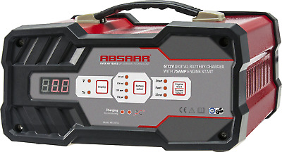 Charger Booster Automatic 6/12V Absaar 12A