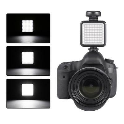 Photography Studio 49 LED Video Light Lamp Dimmable for DSLR Camera Camcorder DV