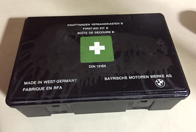 Genuine Bmw E30 First Aid Kit & Contents