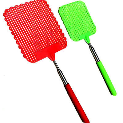 73cm Extendable Fly Swatter Telescopic Killer Mosquito Tool Pest Control Supply