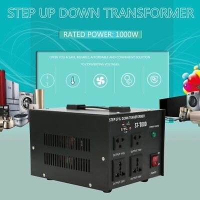Professionnel 3000W Transformateur de Tension Step UP & Down Convertisseur 230V