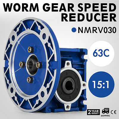 Nmrv030 Worm Gear 15:1 63C Speed Reducer With Flange Selling