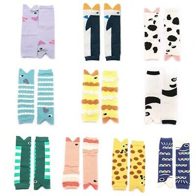 Cartoon Leg Warmers Socks for Newborn Baby Girl Boy Baby Knee Pads Stockings New