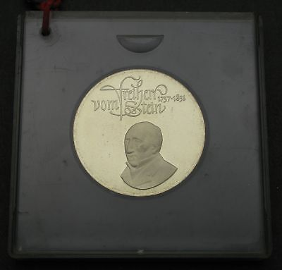 GERMANY (DDR) 20 Mark 1981 Proof - Silver - Death of vom Stein