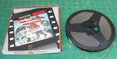 Walton The Battle Of River Plate Super 8 Black & White Sound Film Reel