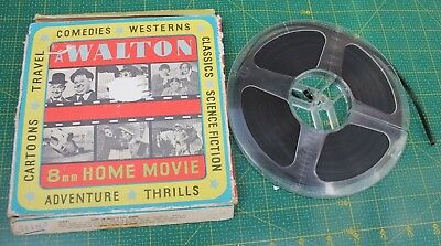 Walton Live Ghost Laurel And Hardy  8Mm Black & White Sound Film Reel