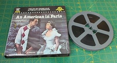 Mgm An American In Paris Super 8  Colour Sound Film Reel Gene Kelly