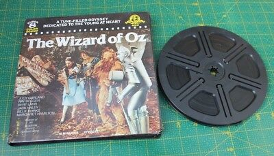 Mgm The Wizard Of Oz Super 8  Colour Sound Film Reel  Judy Garland