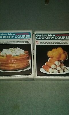 cordon bleu monthly cookery course, cased, 18 issues