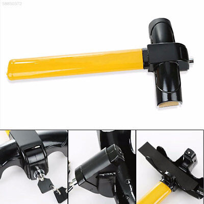 44BC Universal Auto Car Anti-Theft Safe Security Rotary Steering Wheel Lock Lock