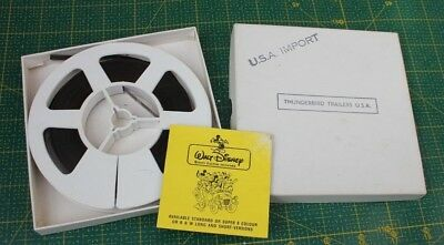 Thunderbird Trailers Usa Import 8 Mm Film Reel