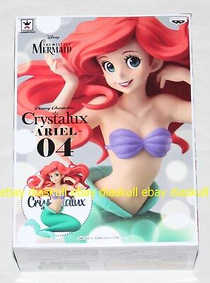 Banpresto Disney Characters Crystalux The Little Mermaid Ariel Figure