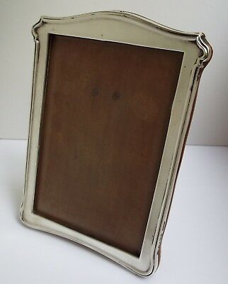 Lovely Quality Genuine English Antique 1915 Solid Sterling Silver Photo Frame