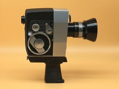 Bolex S1 8mm Cine Film Camera With Schneider 9-30mm f1.8 Lens